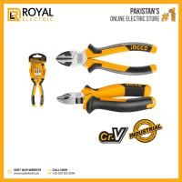 """Ingco HDCP28168 6"""" Diagonal Cutting Pliers CR-V Material IHT"""